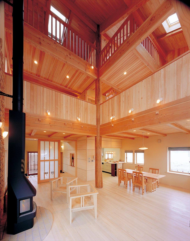 活け木の家